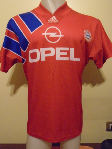 camiseta fútbol bayern munich alemania 1992 92 #10 matthaus