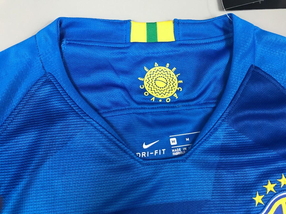 a6dfc62053c37 camiseta fútbol brasil 2018 nuevas de visita azul xl. Cargando zoom... camiseta  fútbol brasil. Cargando zoom.