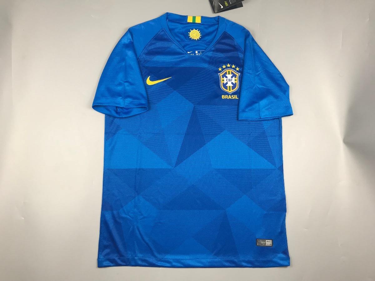 baf803fb2f17b Cargando zoom... fútbol brasil camiseta. Cargando zoom... camiseta fútbol  brasil 2018 nuevas de visita azul xl