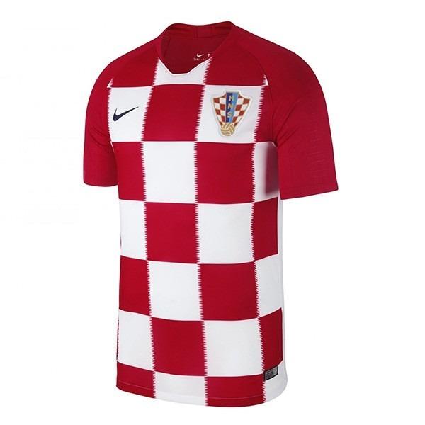 Camiseta Futbol Croacia Mundial 2018 Parches Final Orig -   1.749 6011721a53466