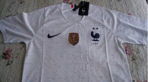 camiseta fútbol francia 2018 nueva de visita (2 estrellas)