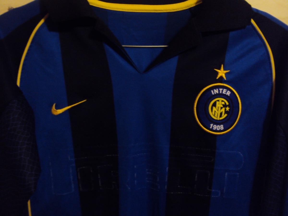 Cargando zoom... inter milan camiseta fútbol. Cargando zoom... camiseta  fútbol inter milan italia nike vieri  10 2002 2003 6f737e4f45f0a