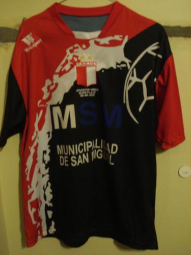 camiseta fútbol juventud unida vs river 2011 utilería #9 t l