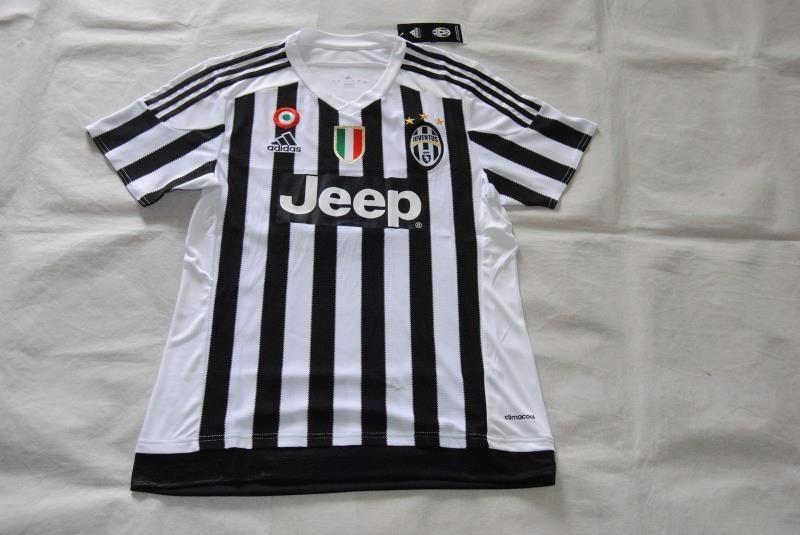 Camiseta Futbol Juventus 2015 2016 De Local Nuevas Talla M ... 54ed52a9e1aea