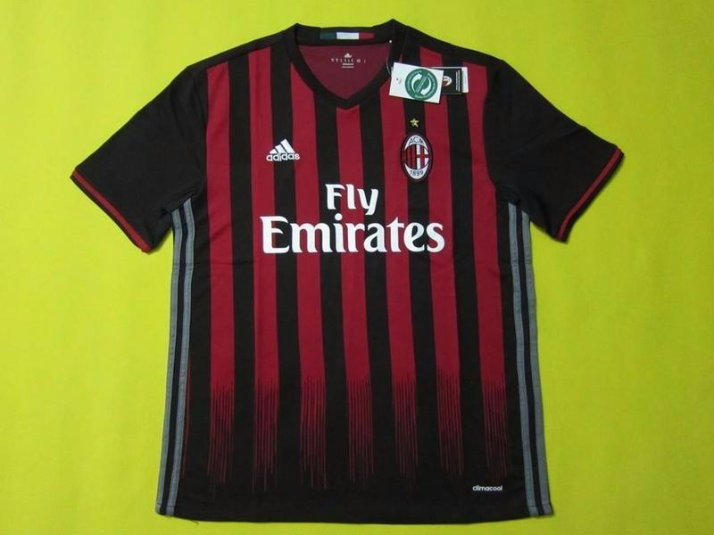 Camiseta Futbol Ac Milan 2016 2017 Nuevas De Local -   22.000 en ... 295cff96ee58f