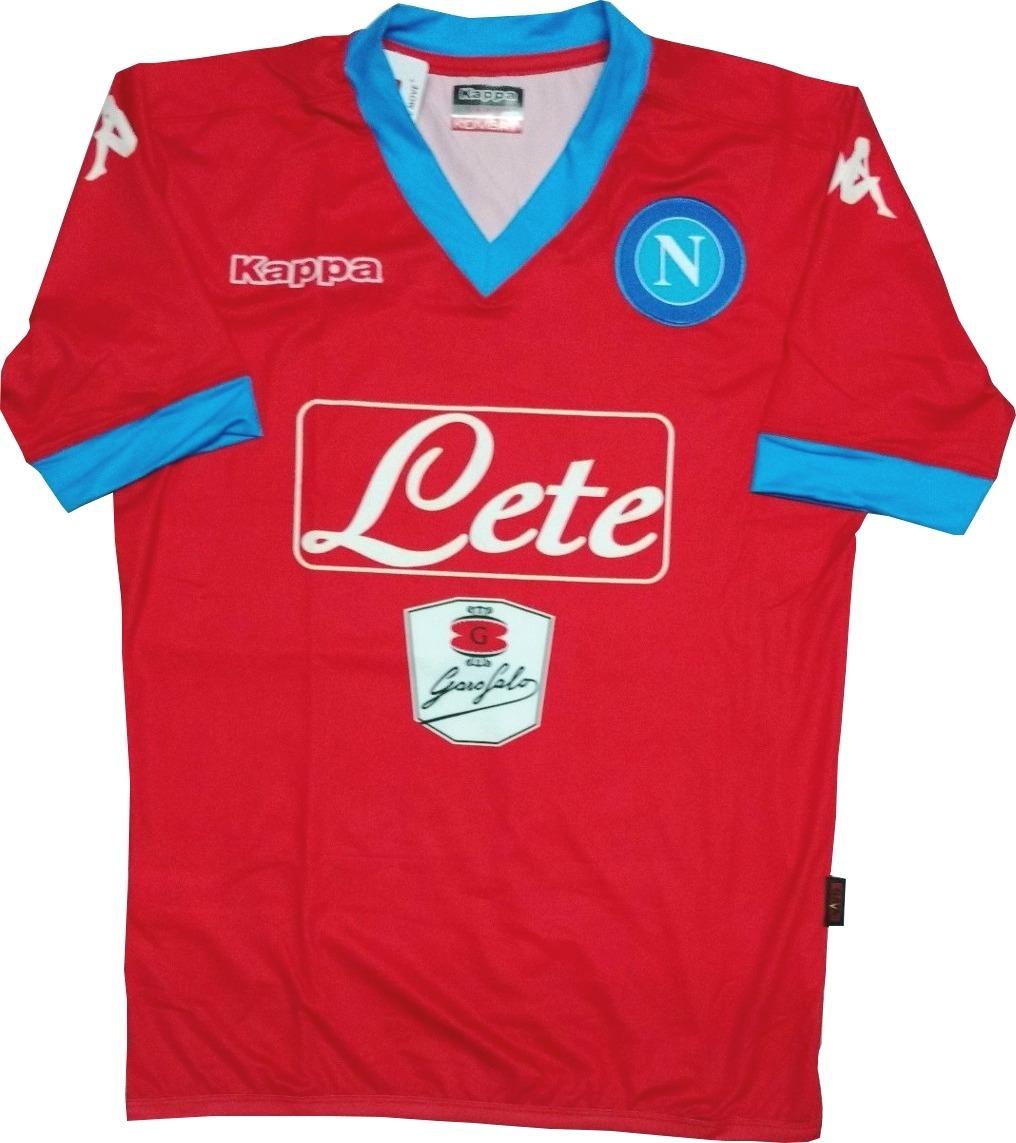 Camiseta De Futbol Titular Napoli 2015-16 Kappa -   999 b439f8845f0cf