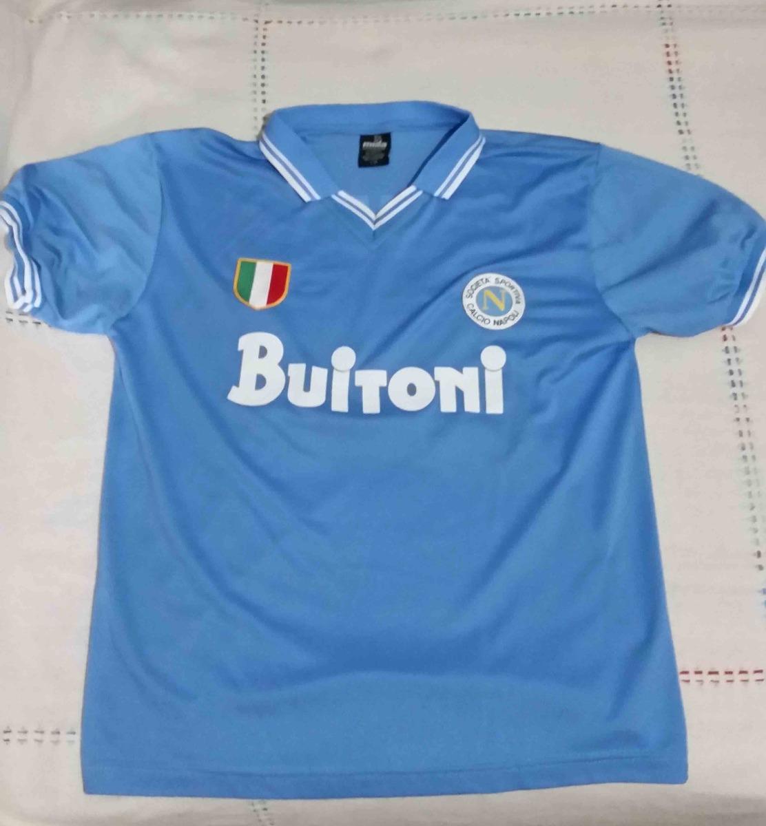 2fb2806766cf7 camiseta futbol napoli maradona. Cargando zoom.