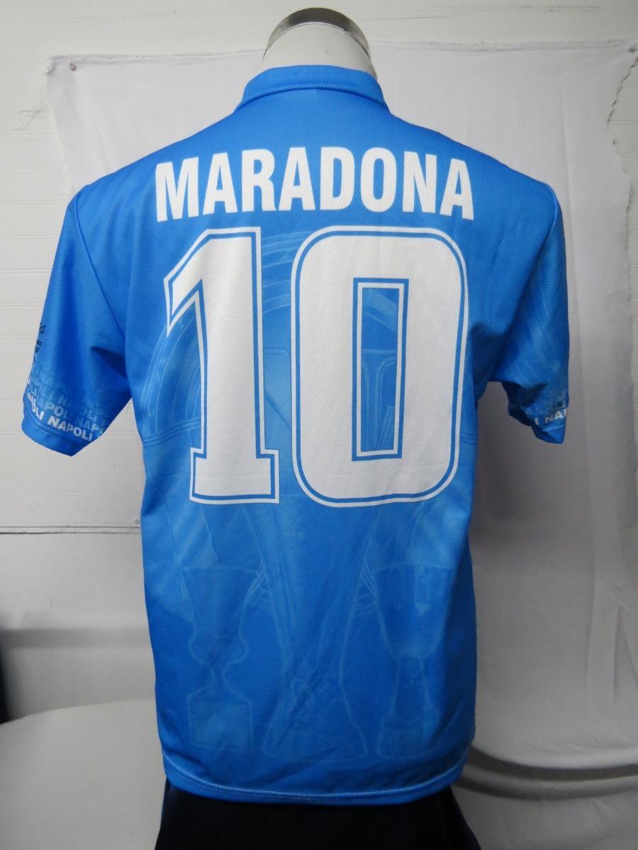 3e34cbcef7702 Camiseta Futbol Napoli Maradona Talla S -   26.990 en Mercado Libre
