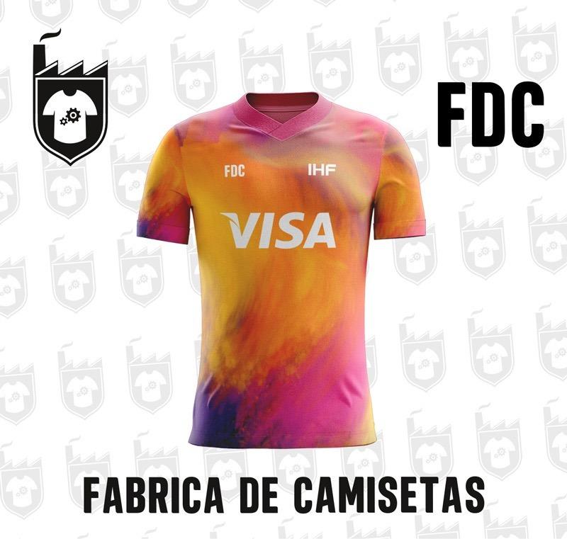 Camiseta Fútbol Personalizada 763ba29adb7b3
