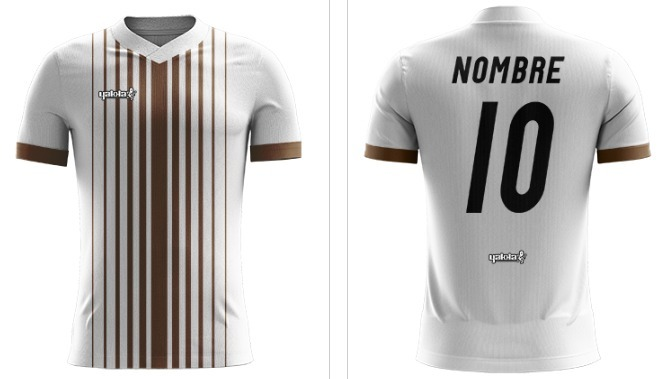 Camiseta Futbol Personalizada Yakka Nombre Escudo -   720 9ca5effa99499