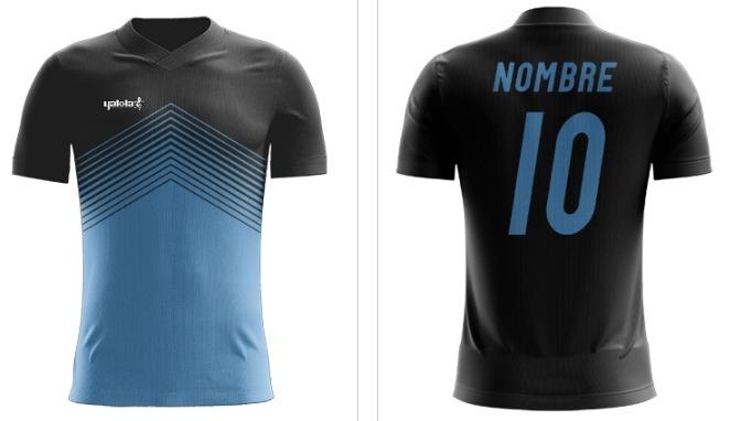 cc89feb1fcd8b Camiseta Futbol Personalizada Yakka Numero Y Nombre -   720