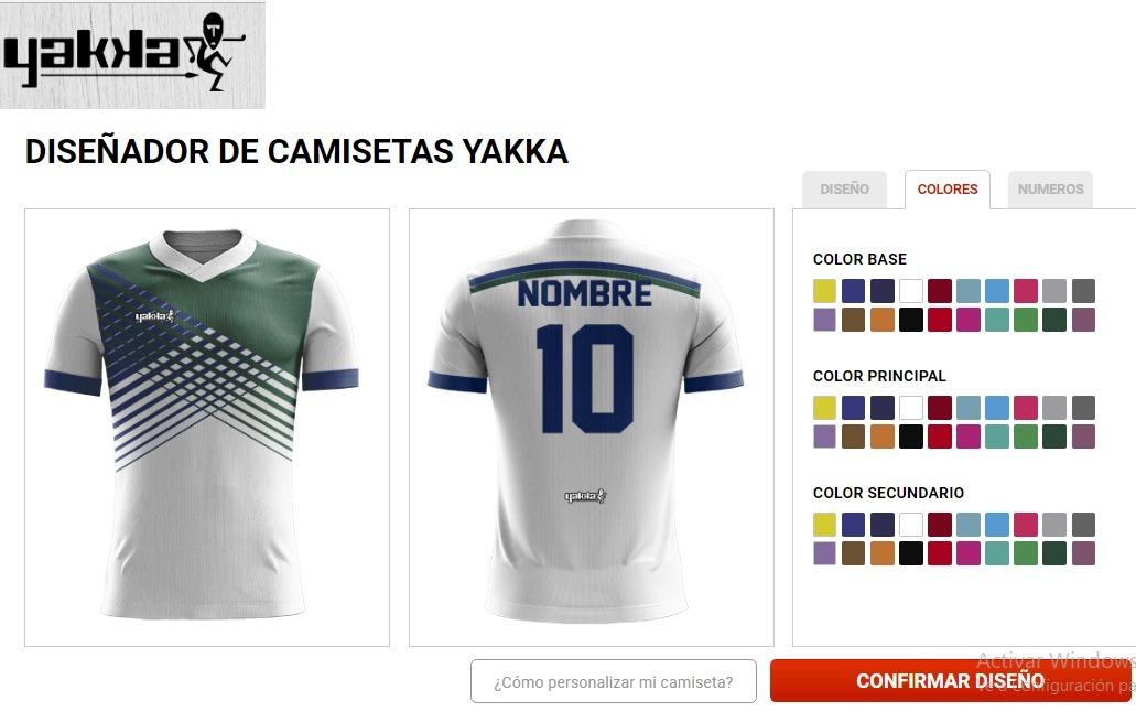 camiseta futbol personalizada yakka short hombre pack 14. Cargando zoom. 7aff762fdbae3