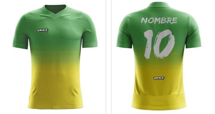 8ba41835a8 Camiseta Futbol Personalizada Yakka Short Hombre Pack 8 - $ 8.320,00 ...