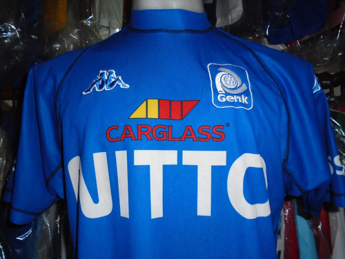 camiseta fútbol racing genk bélgica kappa t. l xl selección