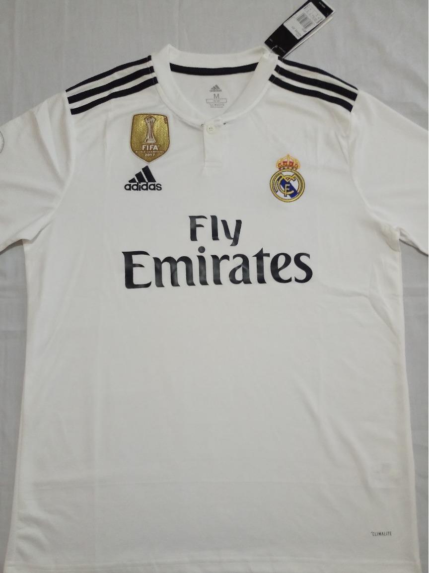 47266e8ace486 Camiseta Fútbol Real Madrid 2018 2019 Nuevas -   21.500 en Mercado Libre