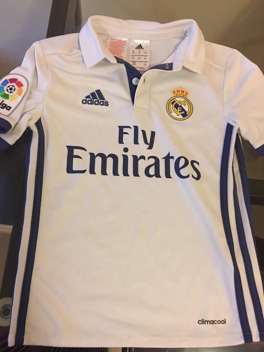 Camiseta Fútbol Real Madrid Niños adidas Original -   500 104fc7ce8fa1b