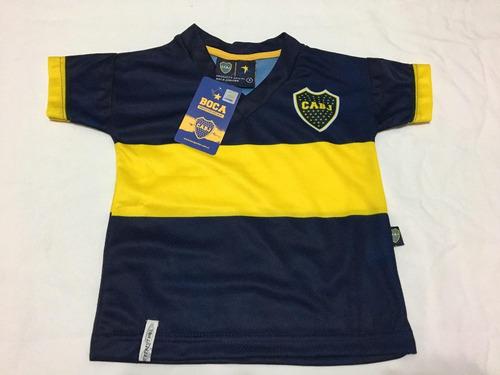 camiseta futbol remera oficial boca juniors bebe niño
