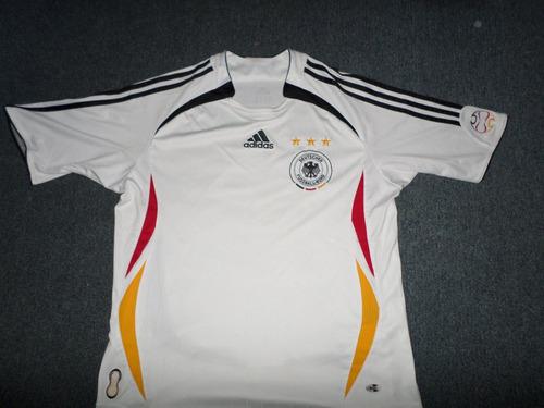 camiseta futbol selección alemania 2006 adidas. talle xs / s
