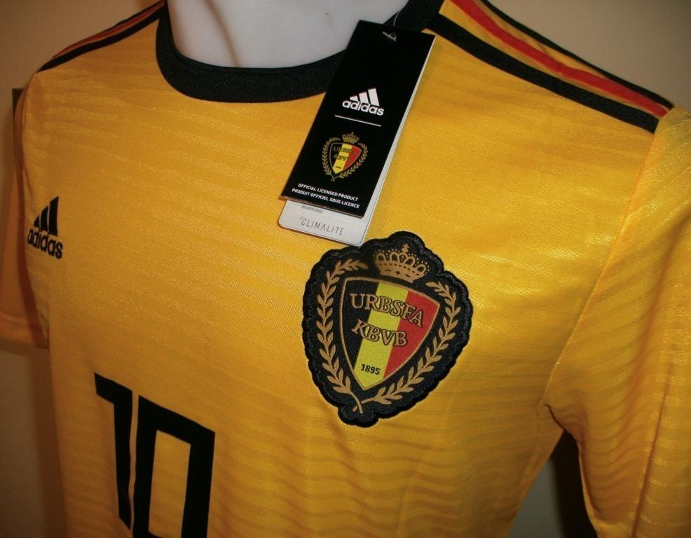 camiseta fútbol selección bélgica visita amarilla talla l. Cargando zoom. a5ee6465592a4