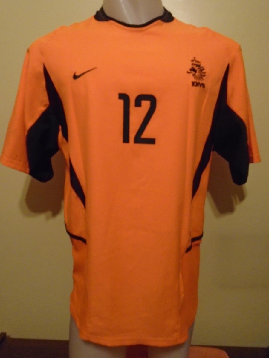 e5ca437b9b205 Camiseta Fútbol Selección Holanda 2002 2004 V Nistelrooy  12 ...