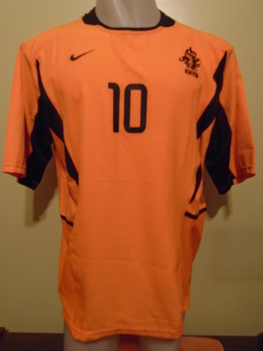 camiseta fútbol selección holanda nike 2002 2004 kluivert 10. Cargando zoom. ae5c85e02d13f