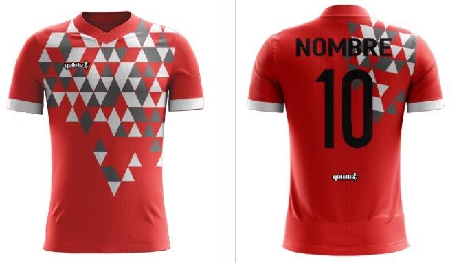 508f7a7cda8d7 Camiseta Futbol Sublimada Yakka Diseña Pedido Nombre Numerad -   720 ...
