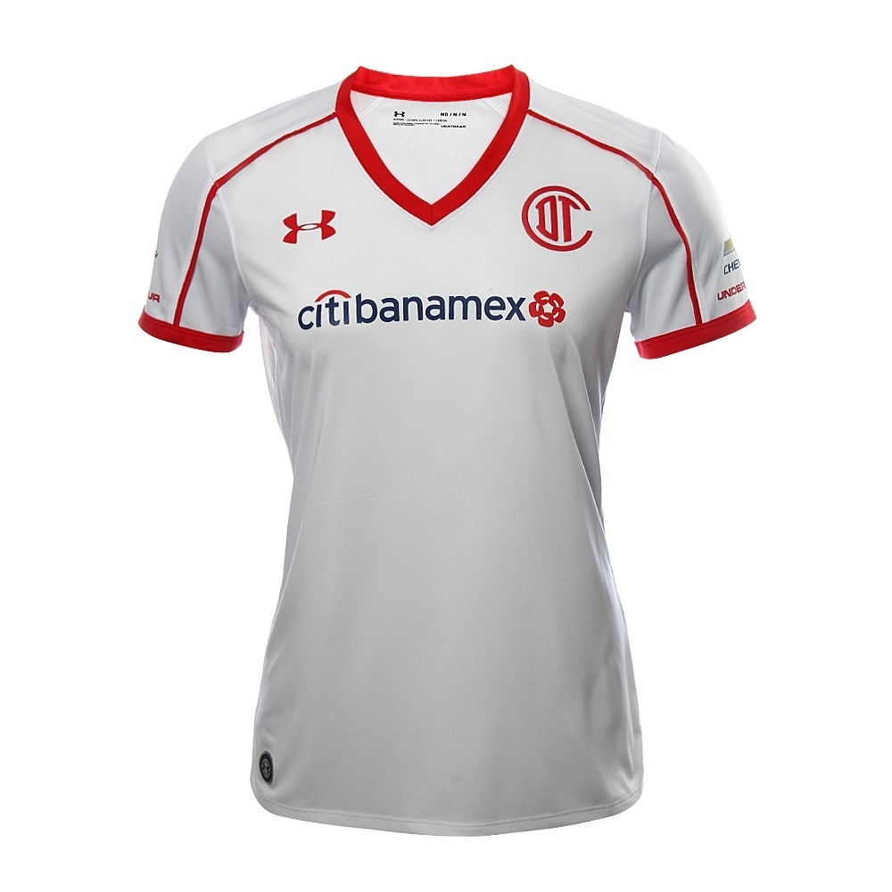 camiseta fútbol under armour toluca dama alterna nueva 2018. Cargando zoom. 41f75fdcc0a55