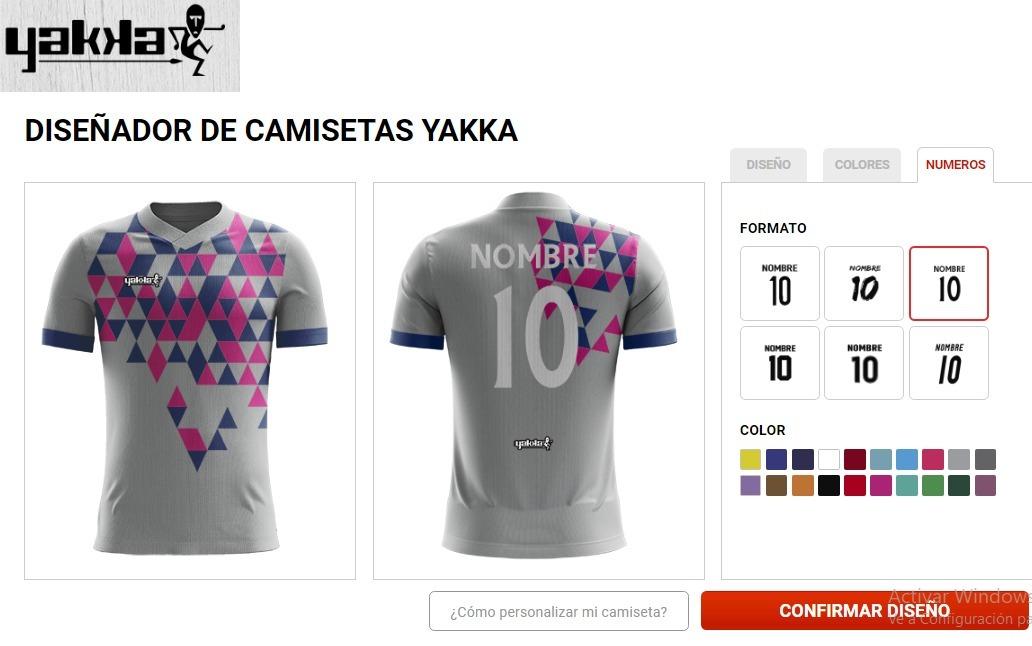 Camiseta futbol yakka diseña numerada pack fabrica fotos jpg 1032x646 Obi yakka  camisetas deportivas de futbol 2f387739aaea4