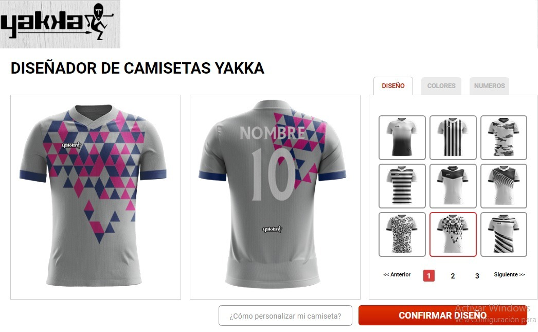 Camiseta Futbol Yakka Diseña Numerada Pack 16 Fabrica -   11.520 d21c40f7c7295