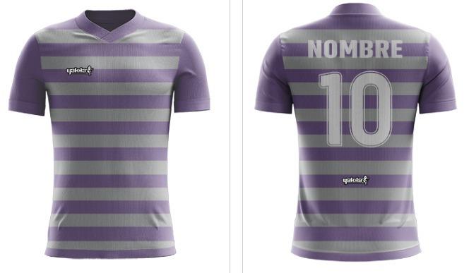 c3b3cc9c1cd37 Camiseta Futbol Yakka Diseñala Pedido Nombre Numerada -   720