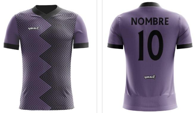 4c6cecffc1683 Camiseta Futbol Yakka Nombre Numeradadiseñador Short Pack 18 ...
