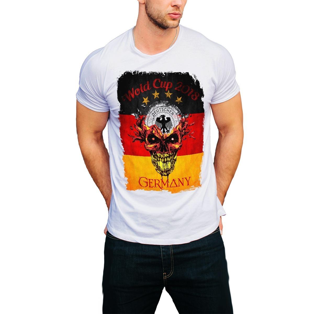 3b7c3f9b77b01 camiseta futebol alemanha camisa copa mundo 2018 russia top. Carregando  zoom.