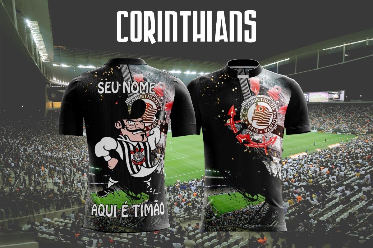 ef653774285d8 camiseta futebol corinthians  timão  fiel  sccp  estadio cor. Carregando  zoom.