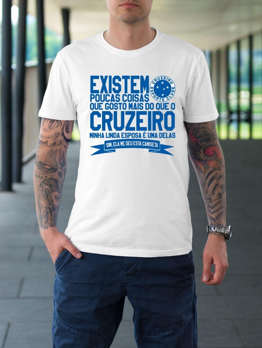 camiseta futebol cruzeiro raposa presente da minha esposa. Carregando zoom. f8ac645648c8c