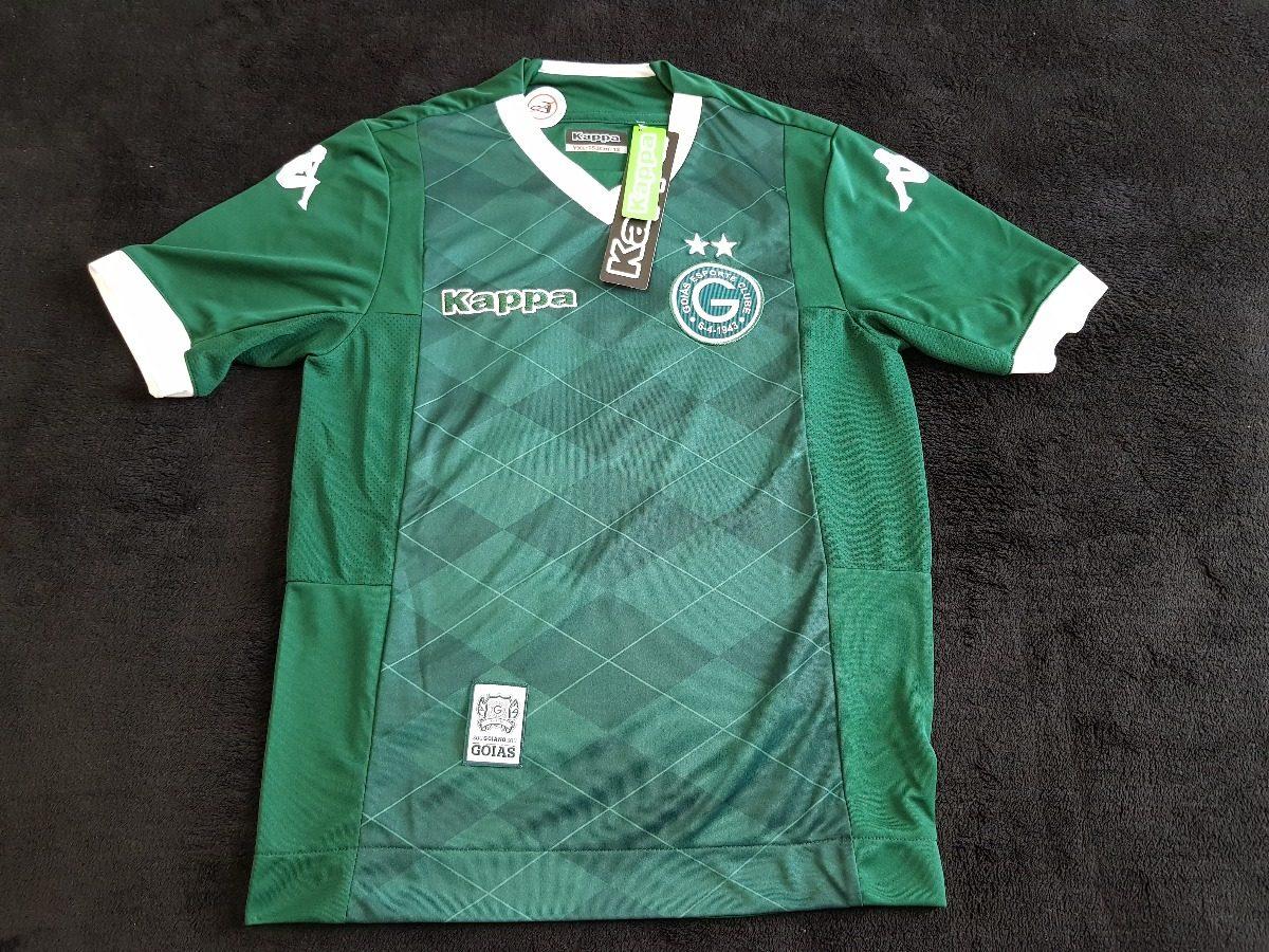 955c081278 camiseta futebol goiás infantil 12 oficial original kappa. Carregando zoom.