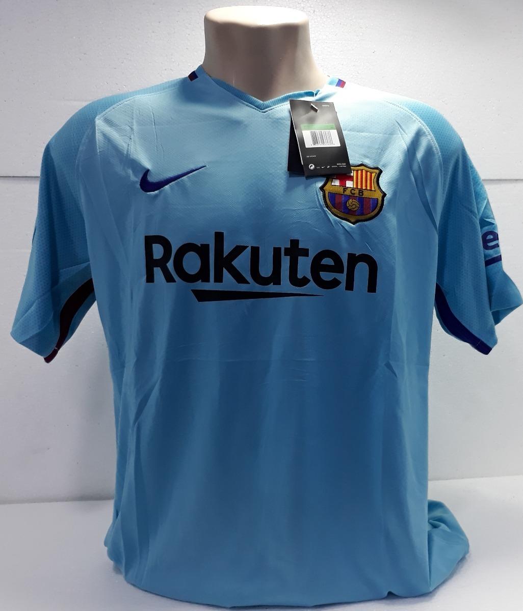 56bef971b6c56 camiseta futebol oficial barcelona azul personalizada. Carregando zoom.