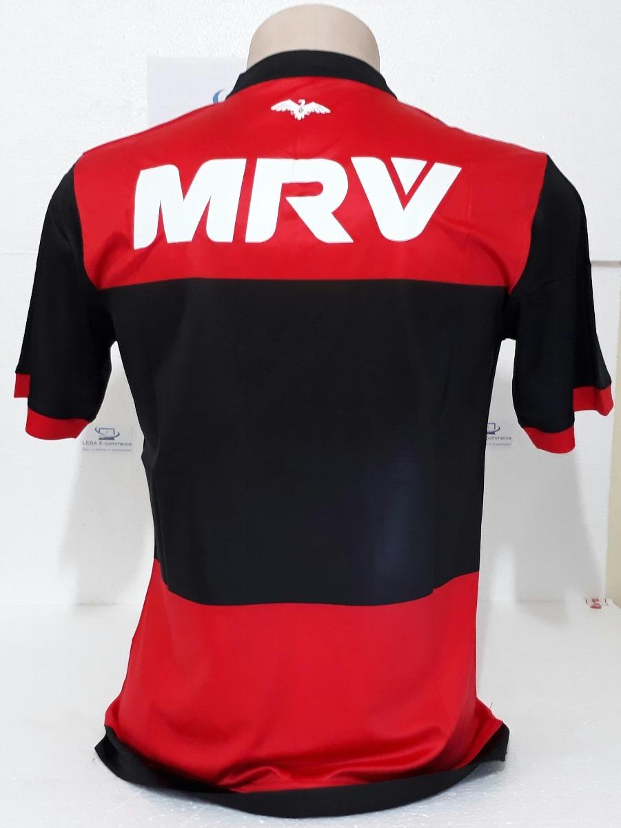 camiseta futebol oficial flamengo vermelha. Carregando zoom. cc7ad921411b0