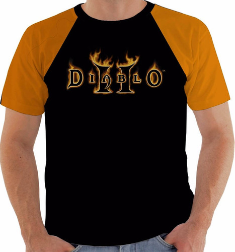 camiseta game diablo 2
