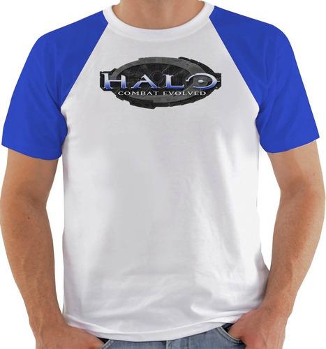 camiseta game halo combat evolved - color