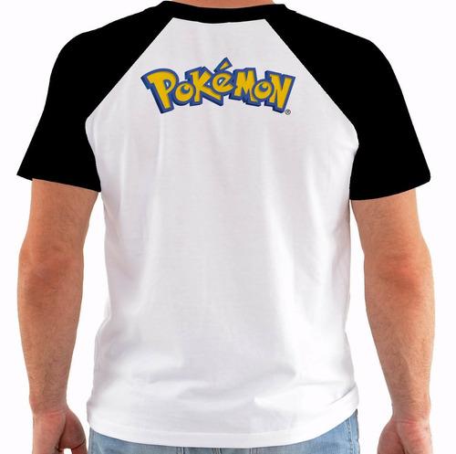 camiseta game pokemon picachu