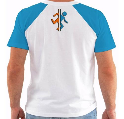camiseta game portal 2 - color m377