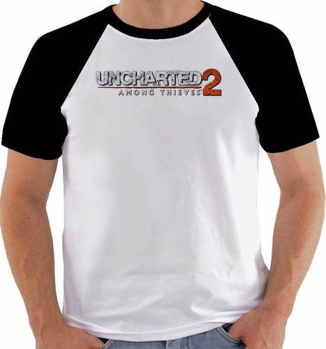 camiseta game uncharted 2 among thieves