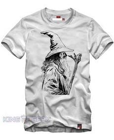 e122b0b5680e55 Camiseta Gandalf O Senhor Dos Anéis-hobbits Camisa Filmes