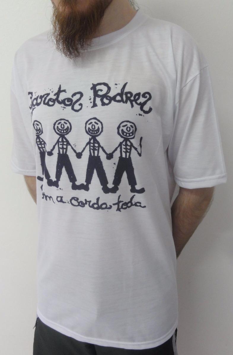61f000e6f Camiseta Garotos Podres - Com A Corda Toda - R  29