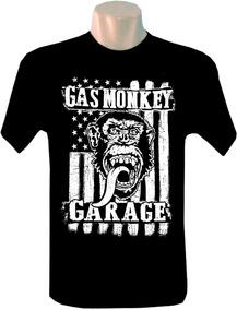 7c6b1670b Gas Monkey Garage - Camisetas Manga Curta para Masculino no Mercado ...
