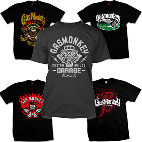 62b4f5dc6 Camiseta Gas Monkey Garage Dallas Texas Em Silk Nota 1000 - Calçados ...