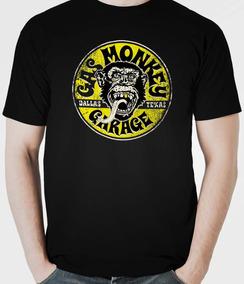 a61eb4a3b Camiseta Gas Monkey Dupla Do Barulho - Camisetas Manga Curta para ...