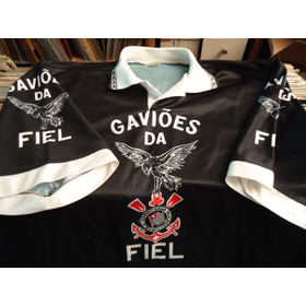 Camiseta Gaviões Da Fiel Corinthians Anos 90 Frete Grátis