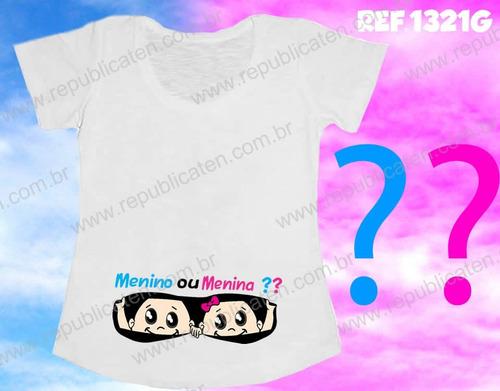 camiseta gestante bebê espiando na barriga princesa - coroa