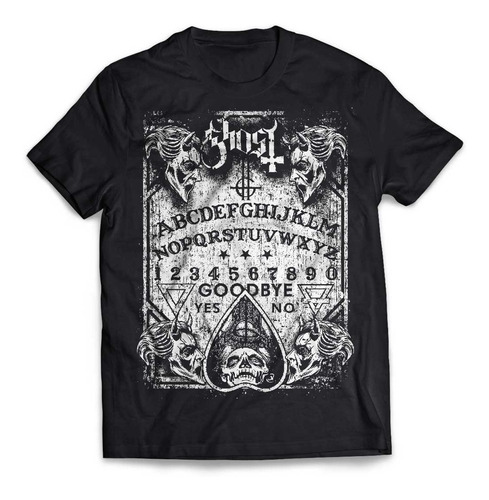camiseta ghost bc ouija rock activity